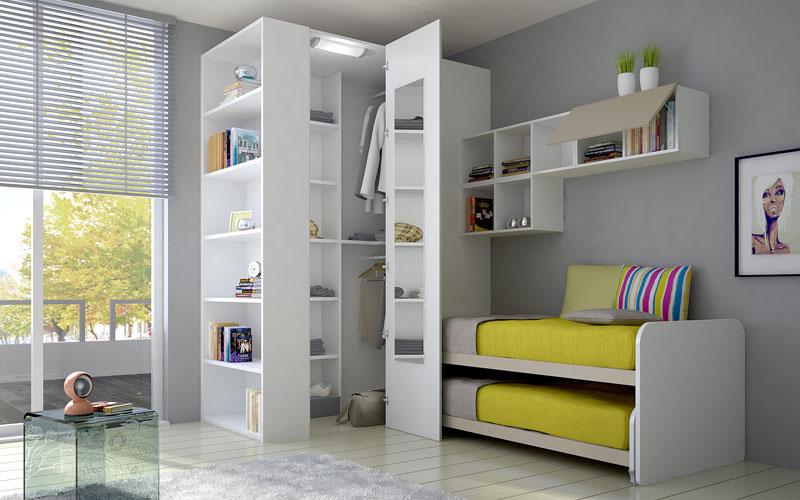 Armadi Per Camere Ragazzi : Camera da letto per i ragazzi idee e foto ideare casa