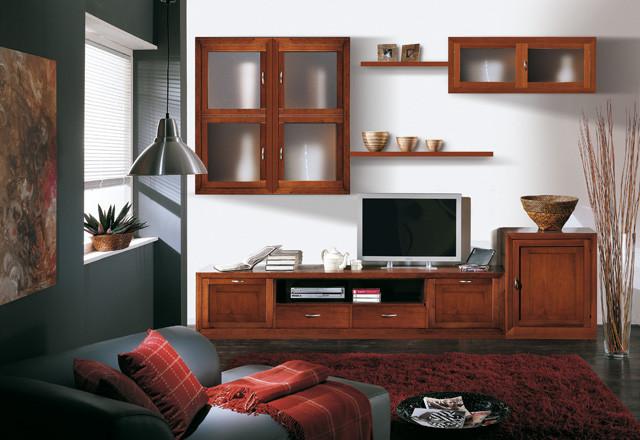 Parete attrezzata Classica – Composizione 7 - mobiliegizio.it